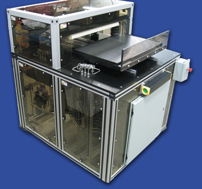 semi-automatic cleanroom press